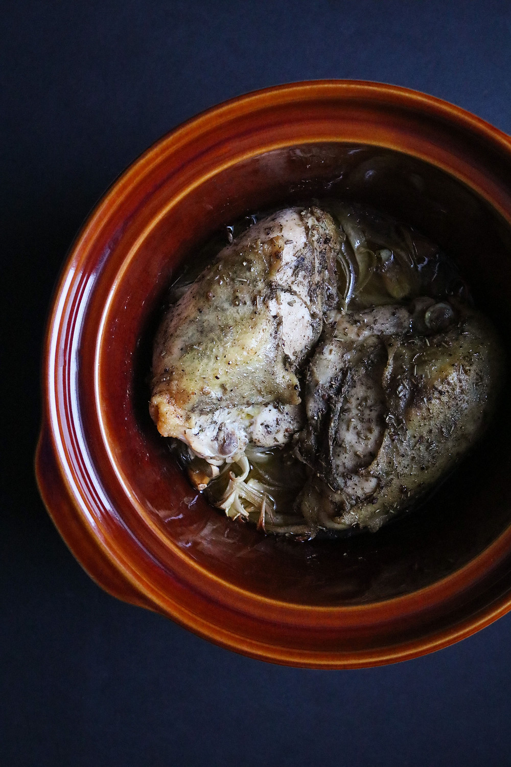 Rosemary & Sage Slow Cooker Pulled Chicken