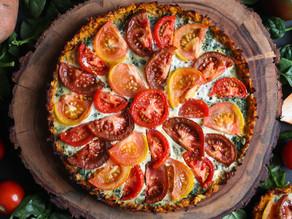 Rosemary & Sage Tomato Tart