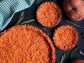 Rosemary & Sage Sweet Potato Tart Crust