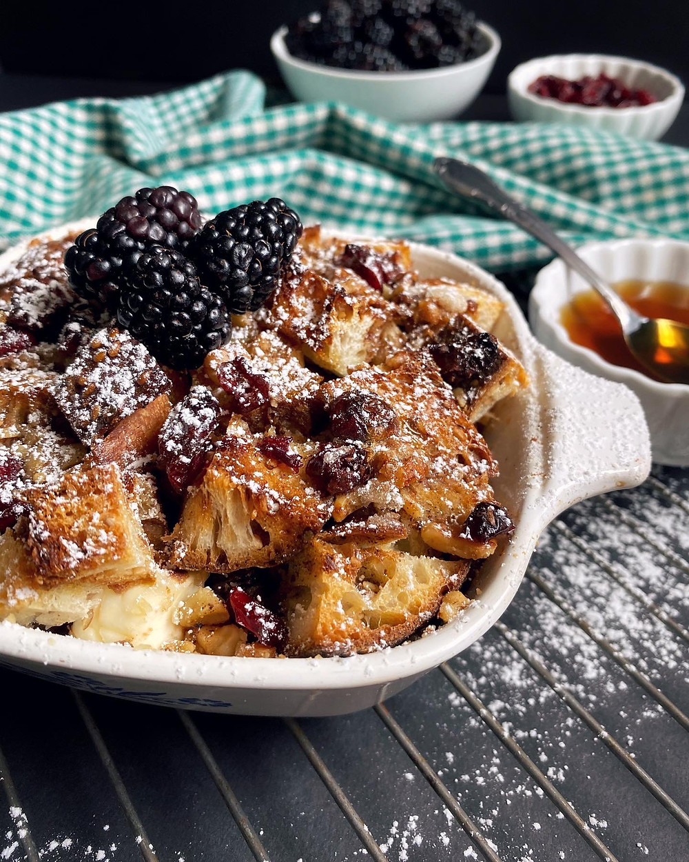 Maple Cranberry French Toast Strata