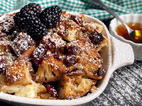 Maple & Cranberry French Toast Strata
