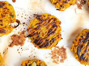 Garlic Ginger Sweet Potato Latkes