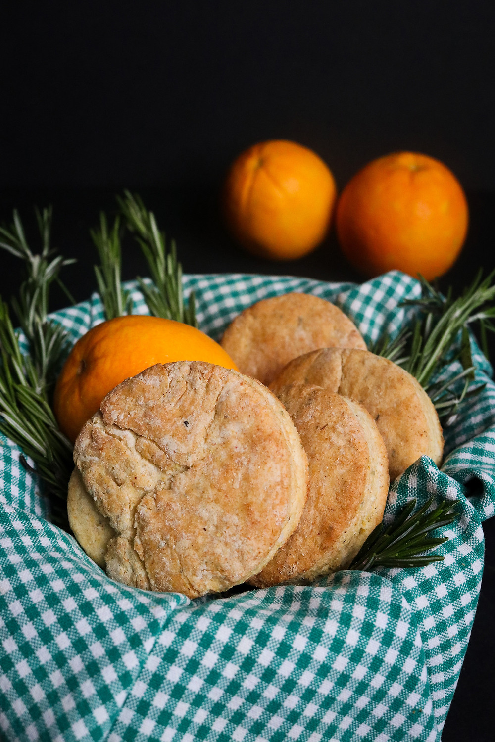 Rosemary and Orange Cornmeal Biscuits for Gobbler Bomb