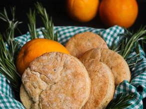 Rosemary & Orange Cornmeal Biscuits