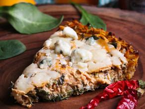 Rosemary Buffalo Chicken Tart