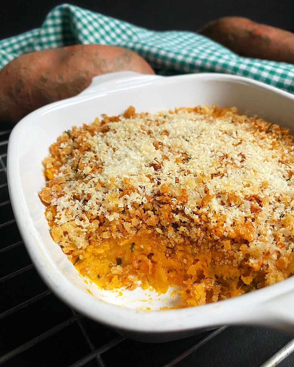 Rosemary Sweet Potato Casserole