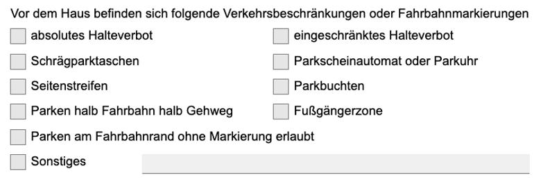 Halteverbot Köln Genehmigung - Verkehrsbeschränkungen