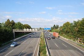 Viel Verkehr in Essen
