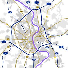Hohe Verkehrsdichte in Köln - Umzug gut organisieren