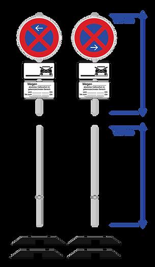 Halteverbot Düsseldorf beantragen