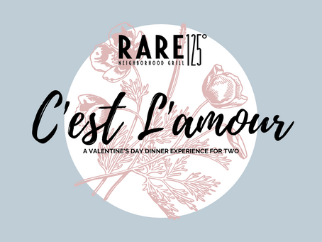 C'est L'amour: A Valentine's Day Dinner Experience For Two