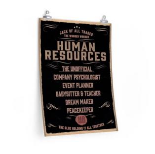HR Many Unofficial Description Poster
