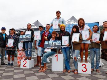 109年 全國分齡衝浪錦標賽 | 得獎名單
