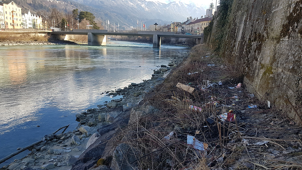 Innuferreinigung 2018 Innsbruck // VORHER!