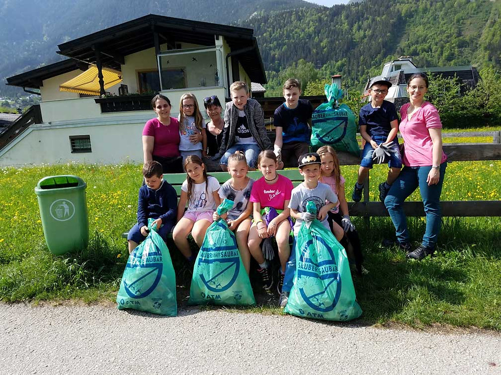 Flurreinigung 2018 - Jugendgruppe d'Alpler