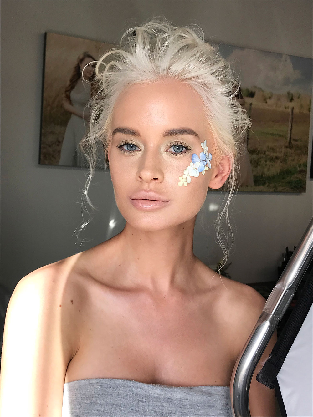 Spring Beauty Makeup For Lucys Magazine / Backstage