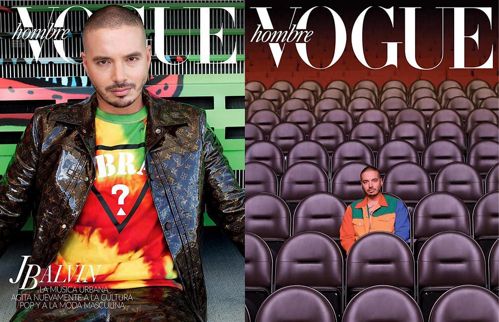 J Balvin For Vogue Mexico / Makeup artist Anna Kalita