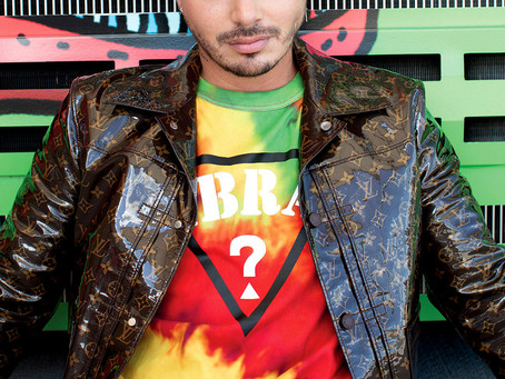 MAKEUP FOR J BALVIN FOR VOGUE
