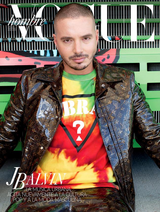J Balvin For Vogue Mexico / Makeup artist