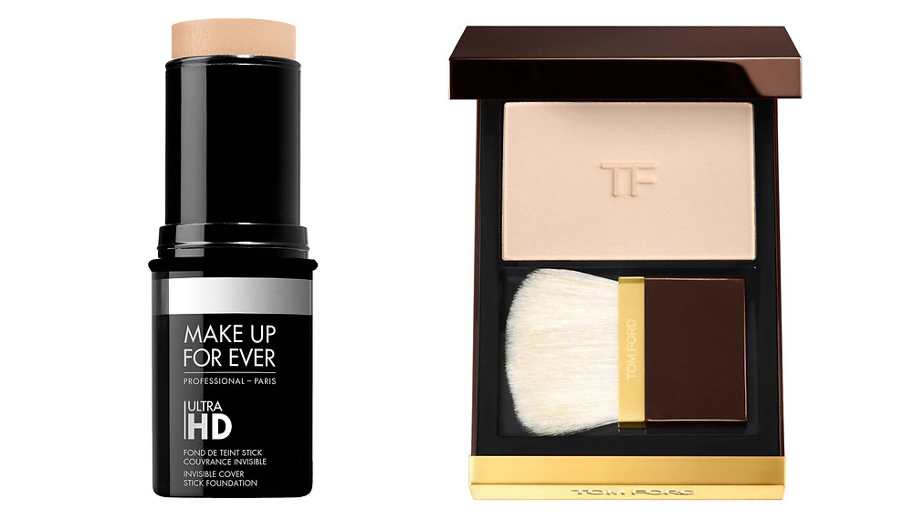 Tom Ford Translucent Finishing Powder / Make Up For Ever Ultra HD Stick Foundation