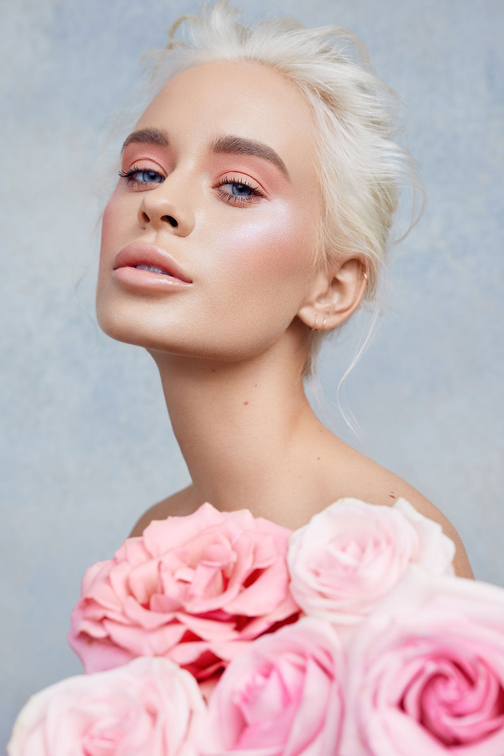 Spring Beauty Makeup For Lucys Magazine