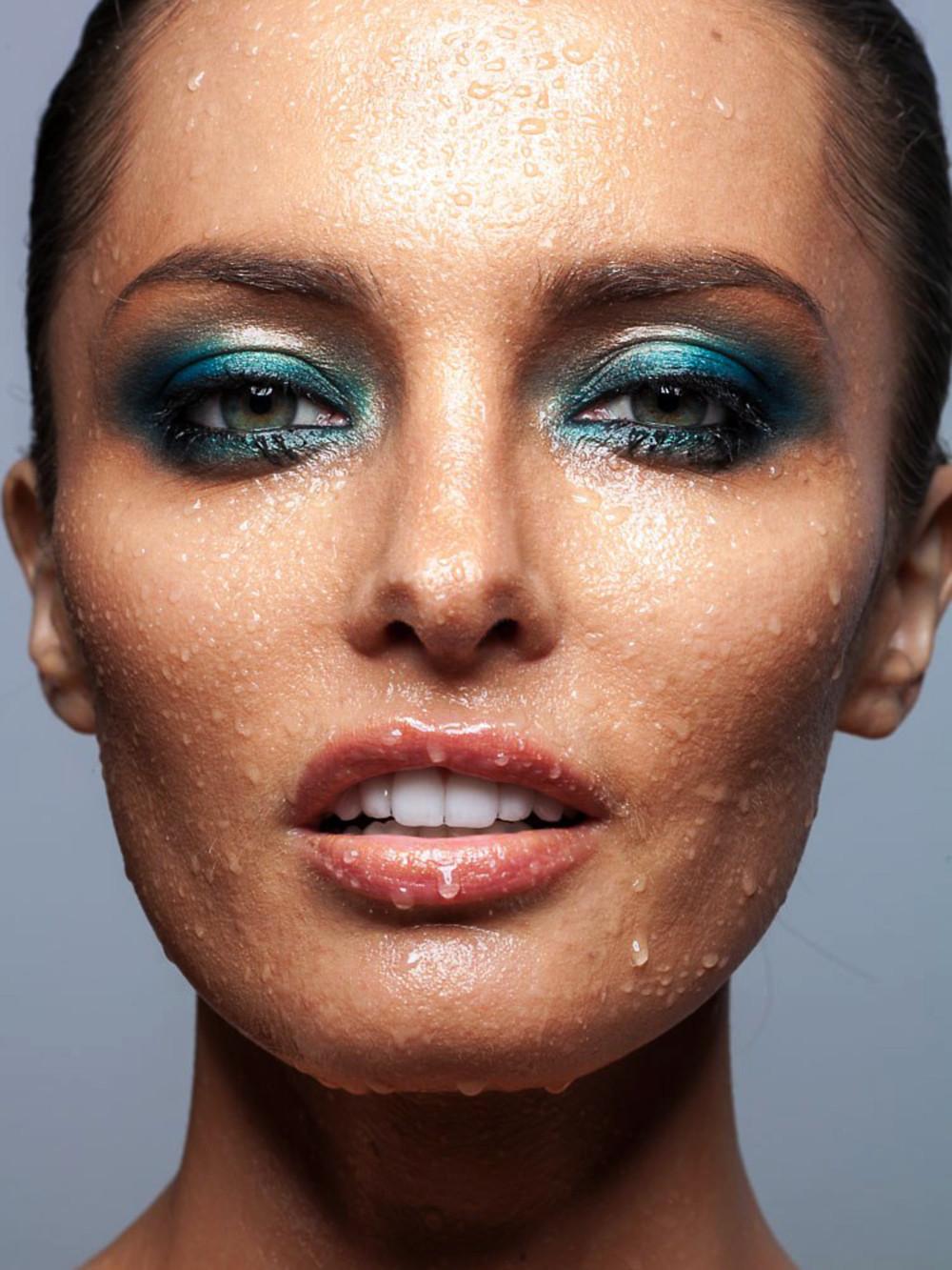 Anna Kalita Makeup Artist for Houston Magazine