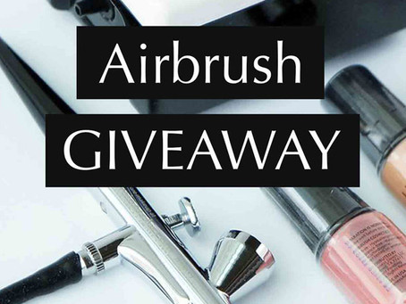 LUMINESS AIRBRUSH KIT GIVEAWAY