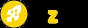 logo fuze avec rond noir autour + texte.