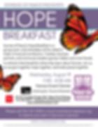 Hope Breakfast Flyer 2020 updated 4-14-2