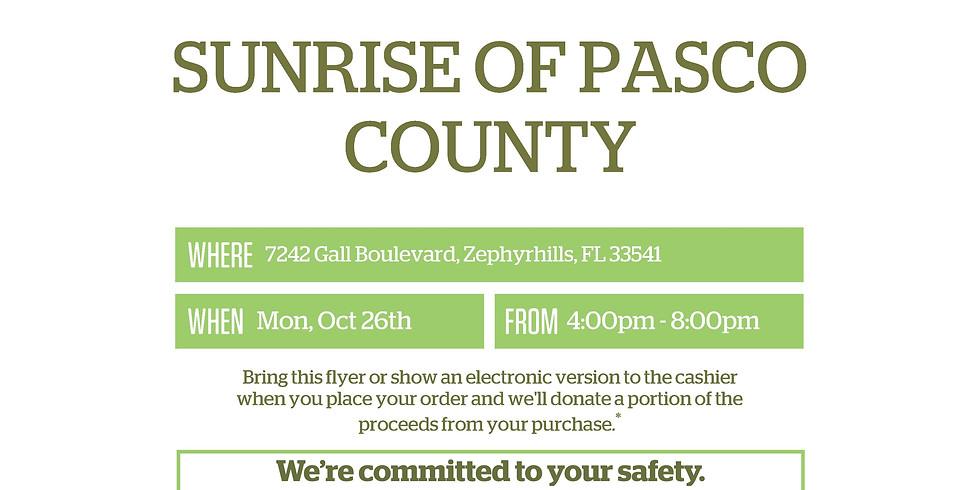 Panera Bread Fundraiser to Support Sunrise of Pasco