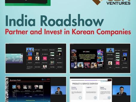 씨비에이벤처스, '온라인 인도 IR 로드쇼' 개최