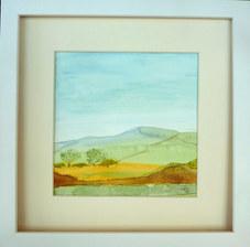 """""""Landscape 1"""" Watercolour 30X30cm £60"""