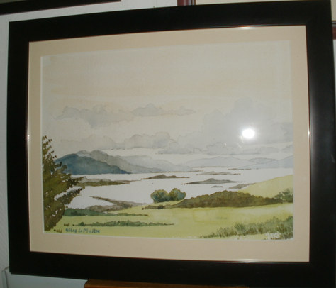 """""""Islands in the Highlands"""" 16""""x13"""" Watercolour £60"""