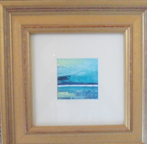 """Water's Edge"" Acrylic 10.5""x10.5"" £50"
