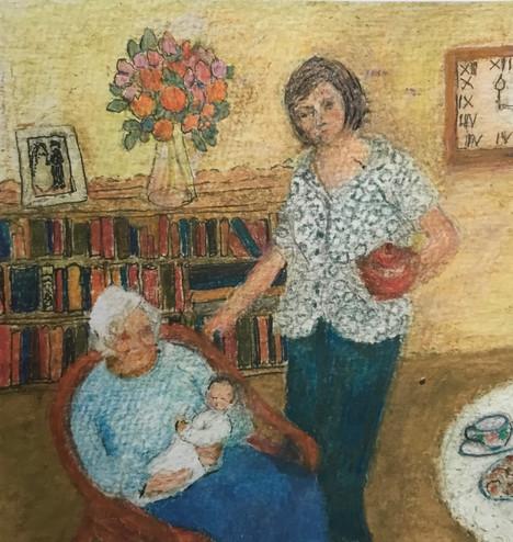 1st Prize Christine Moody, Three Generations