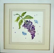 """""""Lilac"""" Watercolour 30X30cm £50"""