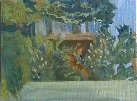 Third Prize: Ann Smith, Summer Garden