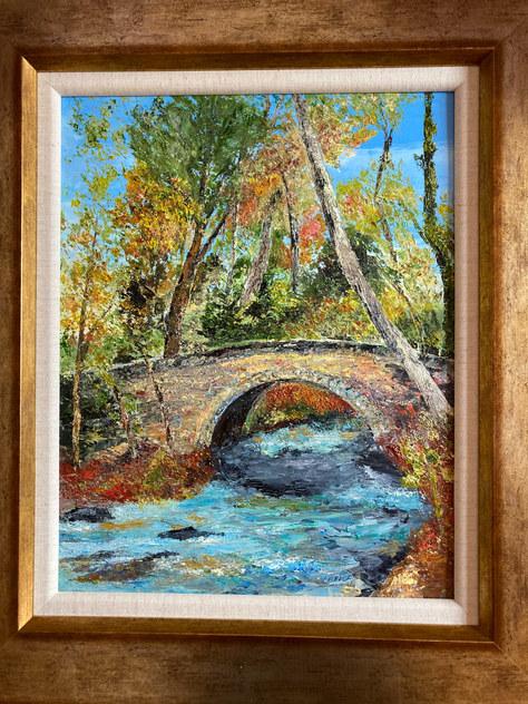 """""""Lade Braes Autumn"""" Oil 24""""x20"""" £120"""