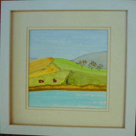 """""""Landscape 2"""" Watercolour 30X30cm £60"""