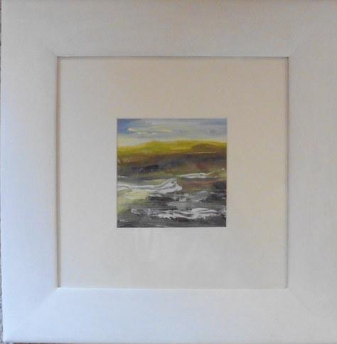 """Shoreline"" Acrylic 17""x17"" £80"