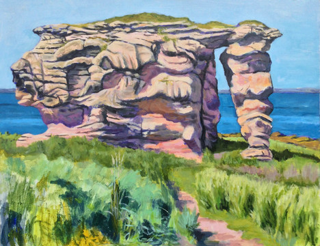 First Prize:  Ali McQueen, Rocks