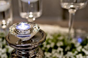 tealight candle holders for your reception styling