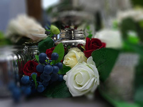 Table centrepieces for your wedding decoratins