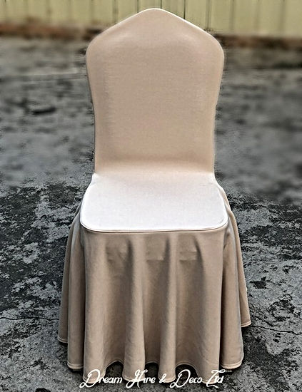 Chair covers fabric for reception styling