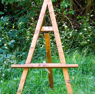 Rustic Easel Table Plan