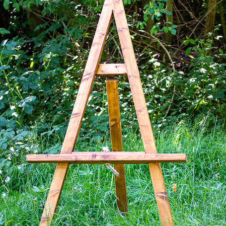 Rustic Easel Table Plan