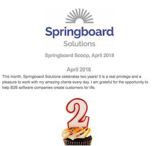 Springboard Scoop Newsletter