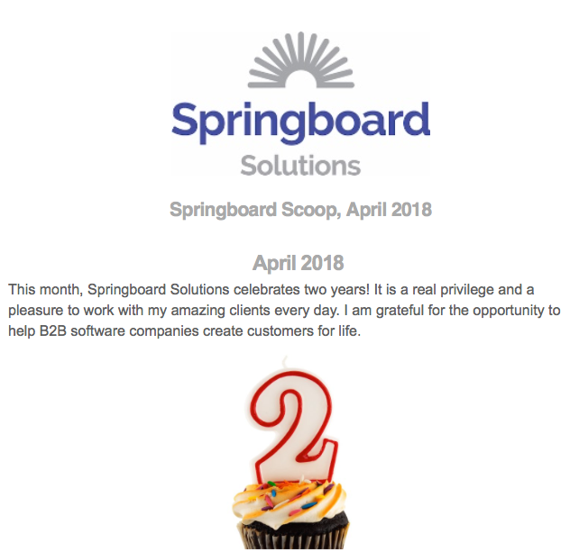 The lights have been burning at Springboard Solutions for