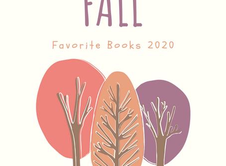 Fall Favorite Books 2020