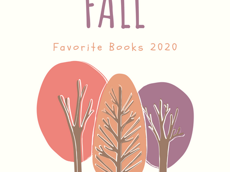 Fall Favorite Books 2020